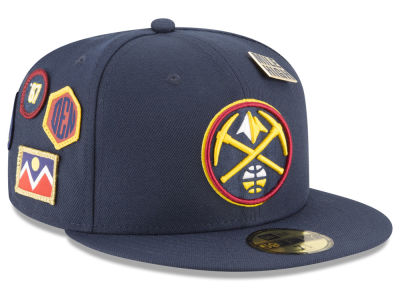 Denver Nuggets New Era 2018 NBA On-Court Collection 59FIFTY Cap