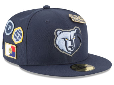 Memphis Grizzlies New Era 2018 NBA On-Court Collection 59FIFTY Cap