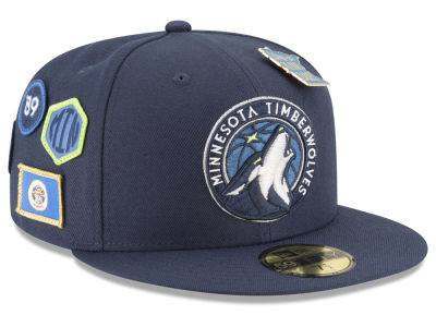 Minnesota Timberwolves New Era 2018 NBA On-Court Collection 59FIFTY Cap