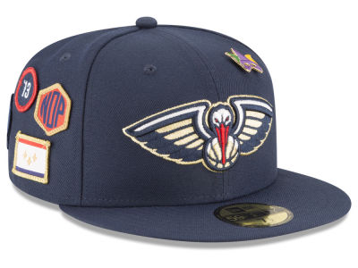New Orleans Pelicans New Era 2018 NBA On-Court Collection 59FIFTY Cap