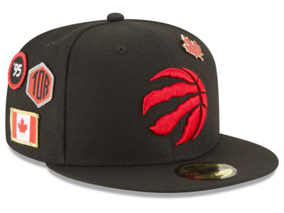 Toronto Raptors New Era 2018 NBA On-Court Collection 59FIFTY Cap