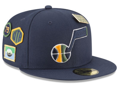 Utah Jazz New Era 2018 NBA On-Court Collection 59FIFTY Cap