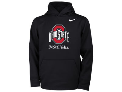 Ohio State Buckeyes Nike NCAA Youth Basketball Hooded Sweatshirt