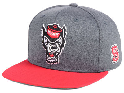 North Carolina State Wolfpack adidas NCAA Stadium Performance Snapback Cap