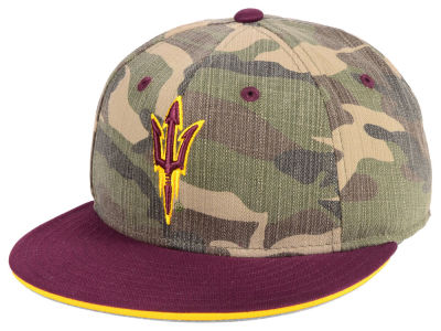 Arizona State Sun Devils adidas NCAA Stadium Performance Camo Fitted Cap