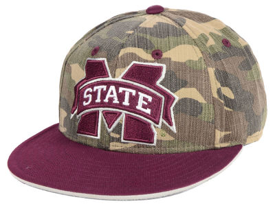 Mississippi State Bulldogs adidas NCAA Stadium Performance Camo Fitted Cap