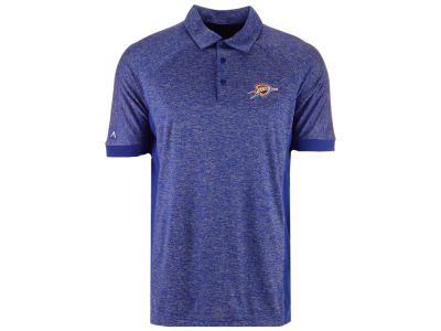 Oklahoma City Thunder Antigua NBA Men's Talent Desert Dry Polo