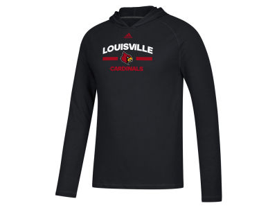 Louisville Cardinals adidas NCAA Men's Ultimate Hooded Long Sleeve T-Shirt