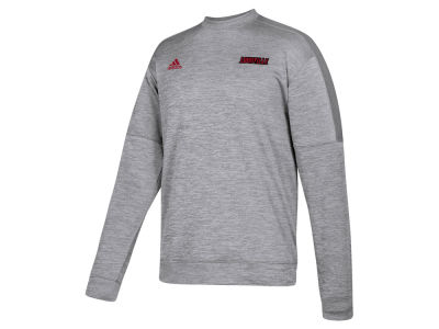 Louisville Cardinals adidas NCAA Men's Team Issue Fleece Crew Sweatshirt
