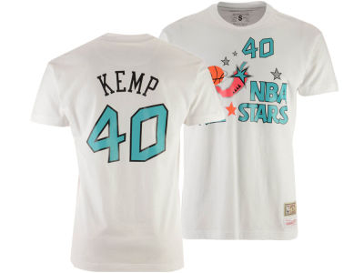 NBA All Star Shawn Kemp Mitchell & Ness 1996 Men's Name & Number Traditional T-Shirt