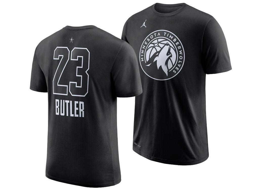 e90352bcc Minnesota Timberwolves Jimmy Butler Nike 2018 NBA Men s All-Star Jordan  Player T-Shirt