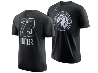 Minnesota Timberwolves Jimmy Butler 2018 NBA Men's All-Star Jordan Player T-Shirt