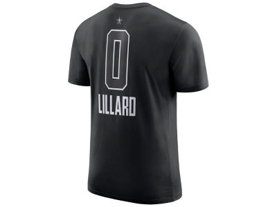 Portland Trail Blazers Damian Lillard Nike 2018 NBA Men's All-Star Jordan Player T-Shirt
