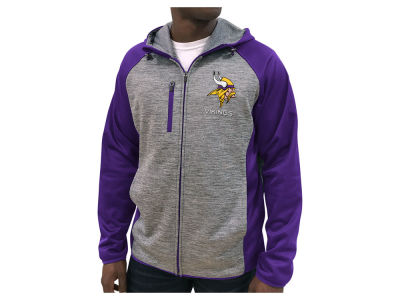 Minnesota Vikings G-III Sports NFL Men's Neutral Zone Full Zip Hoodie