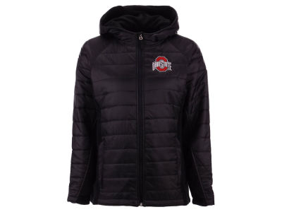 Ohio State Buckeyes J America NCAA Women's Glacier Fleece Jacket
