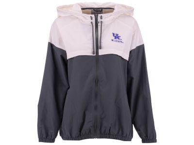 Kentucky Wildcats J America NCAA Women's Varsity Colorblock Windbreaker Jacket