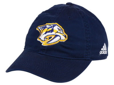 Nashville Predators adidas NHL Slouch Adjustable Cap