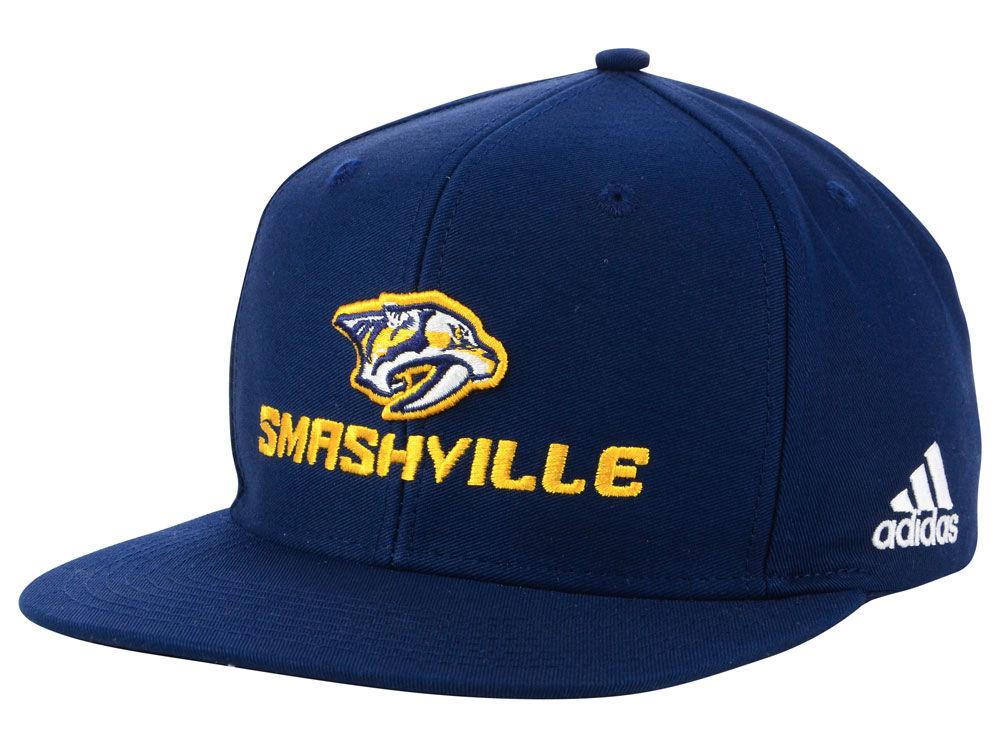 78e97a334e28 Nashville Predators adidas NHL Smash Snapback Cap