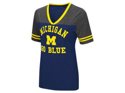 Michigan Wolverines Colosseum NCAA Women's Whole Package T-Shirt