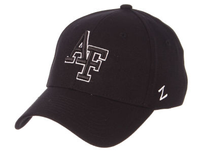Air Force Falcons Zephyr NCAA Black White Stretch Cap