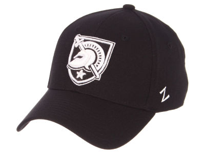 Army Black Knights Zephyr NCAA Black White Stretch Cap