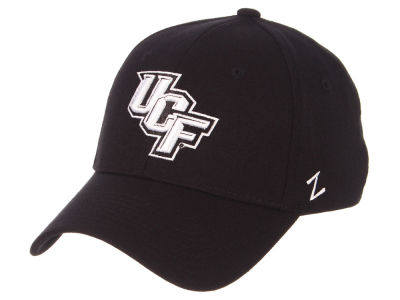 University of Central Florida Knights Zephyr NCAA Black White Stretch Cap
