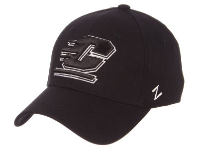 Central Michigan Chippewas Zephyr NCAA Black White Stretch Cap