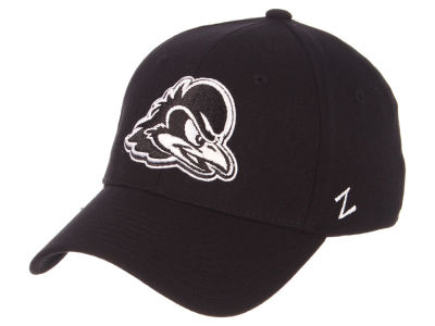 Delaware Blue Hens Zephyr NCAA Black White Stretch Cap