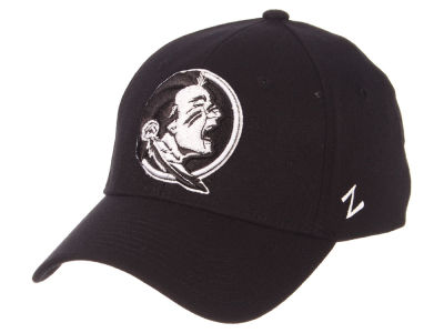 Florida State Seminoles Zephyr NCAA Black White Stretch Cap