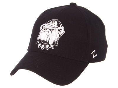 Georgetown Hoyas Zephyr NCAA Black White Stretch Cap