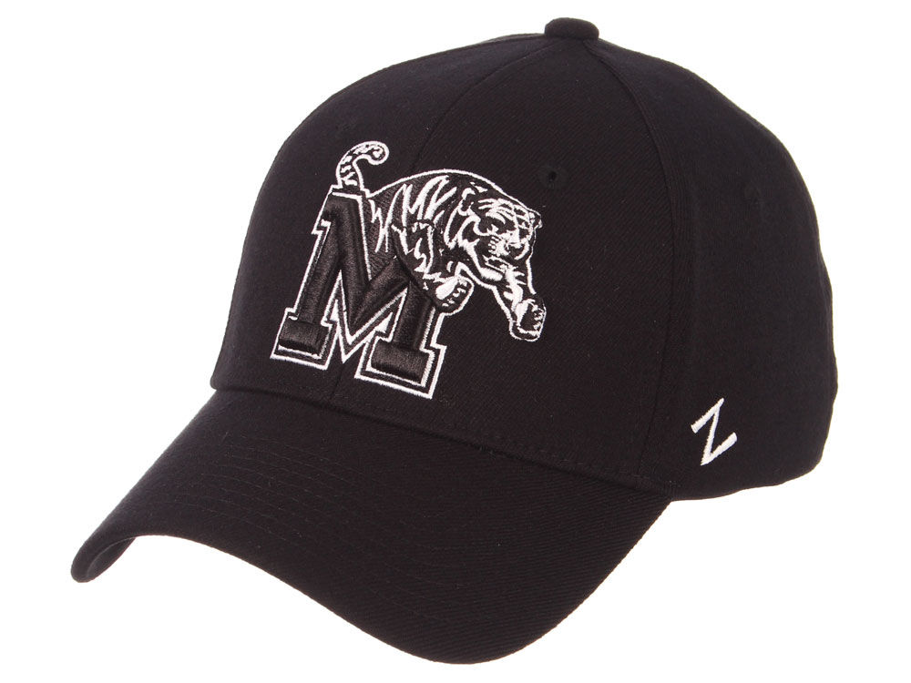 sports shoes 154f9 e76e9 promo code for memphis tigers zephyr ncaa black white stretch cap bb8c8  07c31
