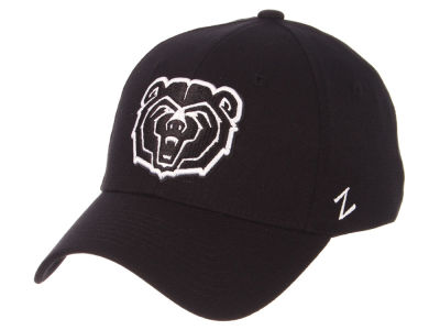 Missouri State Bears Zephyr NCAA Black White Stretch Cap