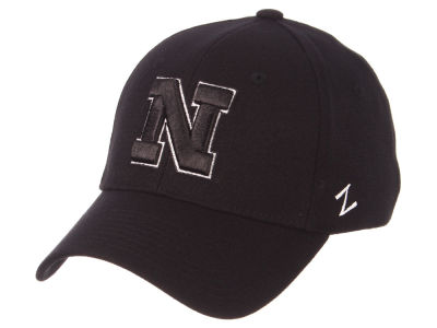 Nebraska Cornhuskers Zephyr NCAA Black White Stretch Cap