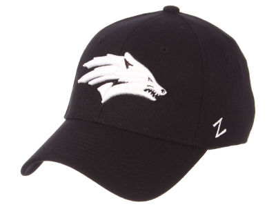 Nevada Wolf Pack Zephyr NCAA Black White Stretch Cap
