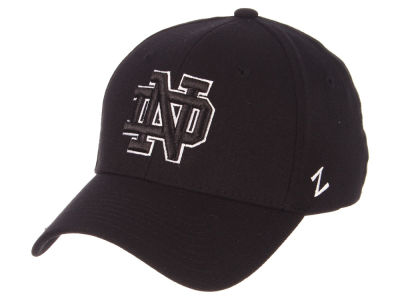 Notre Dame Fighting Irish Zephyr NCAA Black White Stretch Cap