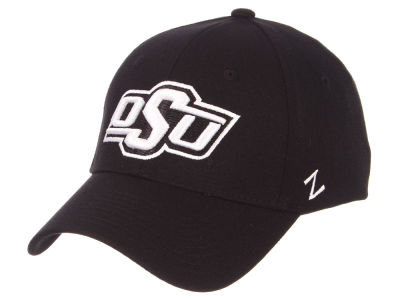 Oklahoma State Cowboys Zephyr NCAA Black White Stretch Cap