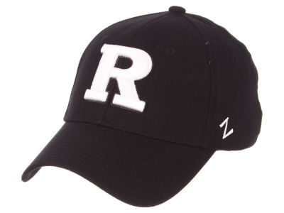 Rutgers Scarlet Knights Zephyr NCAA Black White Stretch Cap