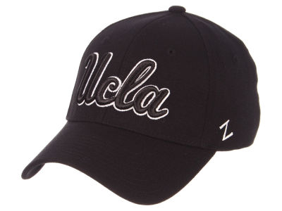 UCLA Bruins Zephyr NCAA Black White Stretch Cap
