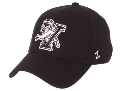 Vermont Catamounts Zephyr NCAA Black White Stretch Cap