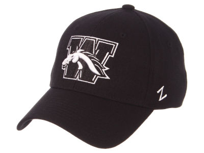 Western Michigan Broncos Zephyr NCAA Black White Stretch Cap