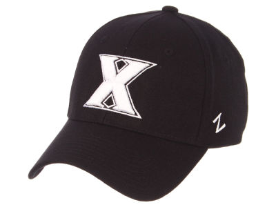 Xavier Musketeers Zephyr NCAA Black White Stretch Cap