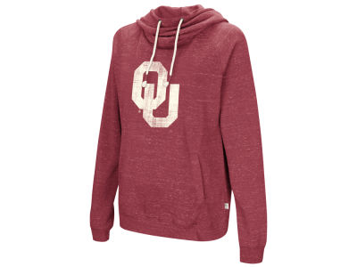 Oklahoma Sooners Colosseum NCAA Women's Speckled Fleece Hooded Sweatshirt