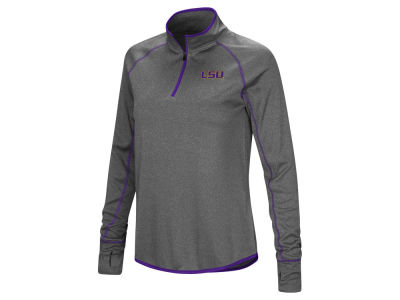 LSU Tigers Colosseum NCAA Women's Shark Quarter Zip Pullover