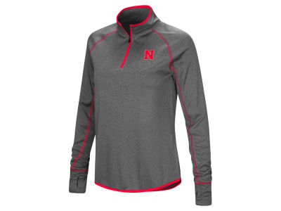 Nebraska Cornhuskers Colosseum NCAA Women's Shark Quarter Zip Pullover