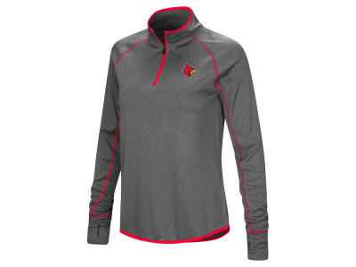 Louisville Cardinals Colosseum NCAA Women's Shark Quarter Zip Pullover