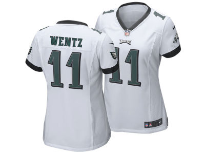 Philadelphia Eagles Carson Wentz Nike NFL Women's Game Jersey
