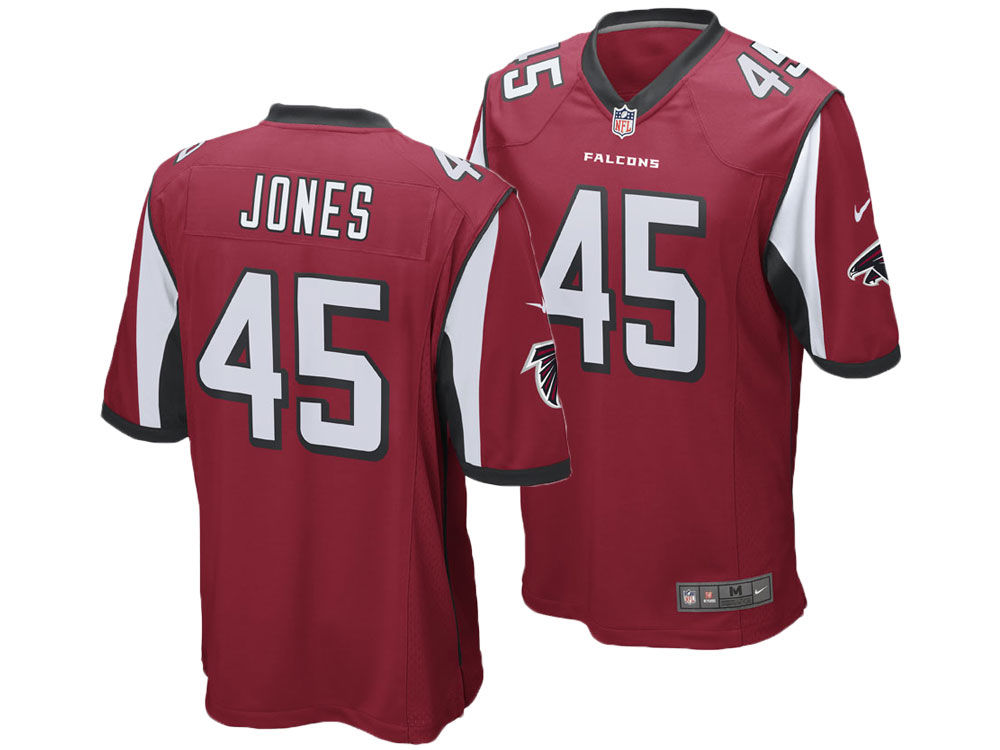 Atlanta Falcons Deion Jones Nike NFL Men s Game Jersey  692ff7f0b