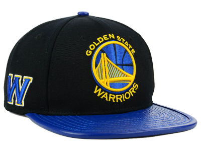 Golden State Warriors Pro Standard NBA Black Snapback Cap