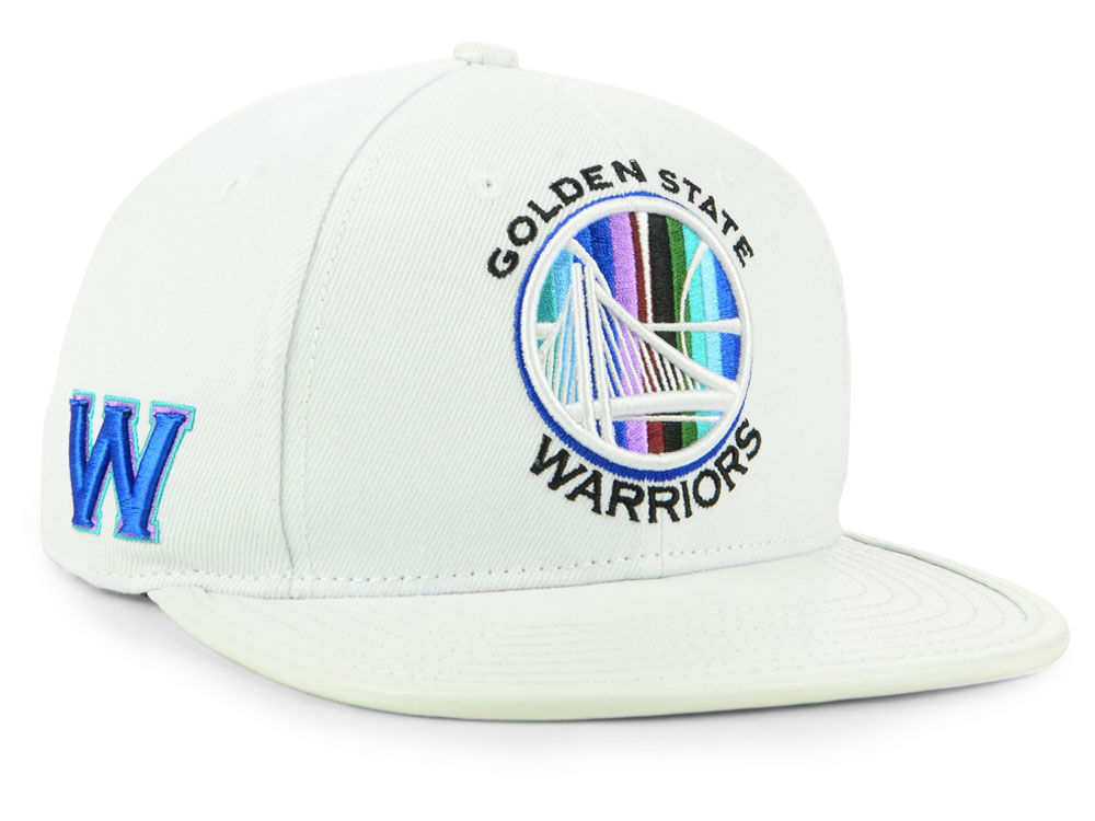 Golden State Warriors Pro Standard NBA Multi Stripe Snapback Cap ... 096c4175e06