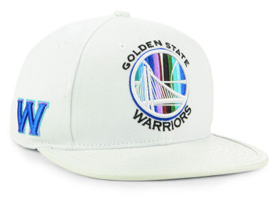 Golden State Warriors Pro Standard NBA Multi Stripe Snapback Cap